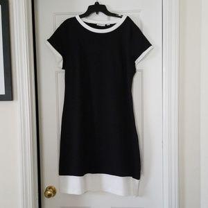Like new Black short sleeve tee shirt dress